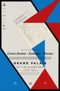 salon de l'estampe_affiche_2014